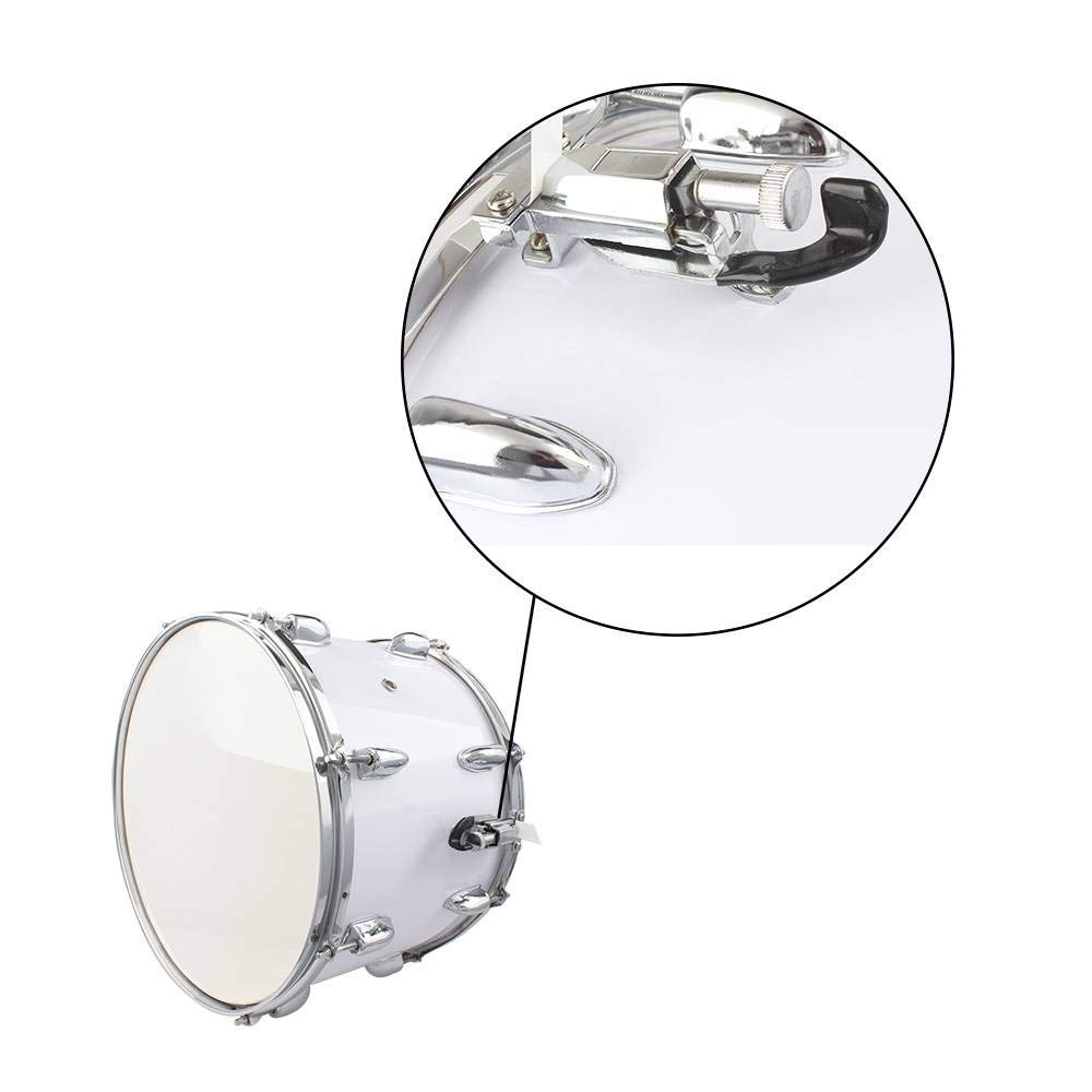 SHUTAO 14 x10 inches Marching Drum Drumsticks Key Strap White by SHUTAO (Image #5)