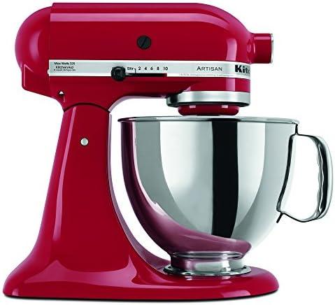 KitchenAid RRK150ER  5 Qt. Artisan Series – Empire Red (Renewed)