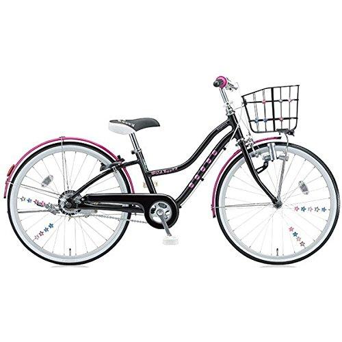 ブリヂストン(BRIDGESTONE) 少女用自転車 ワイルドベリー WB606 ブラックパンサー 26インチ変速なし B01B7E77H6