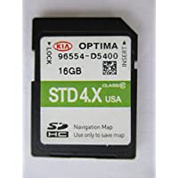 D5400 2015 2016 KIA OPTIMA Navigation MAP Sd Card ,GPS UPDATE , U.S.A OEM PART # 96554-D5400 16GB 4.X USA