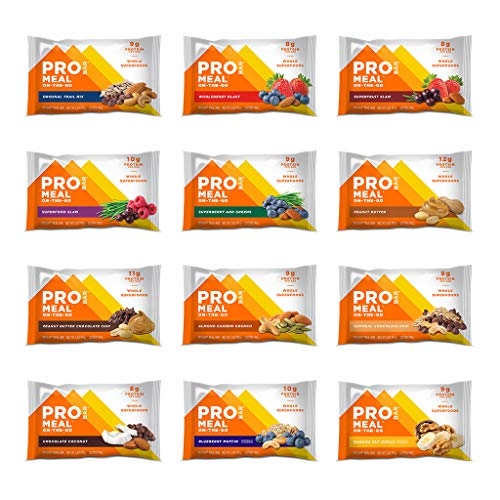 PROBAR - Meal Bar, Variety Pack, Non-GMO,