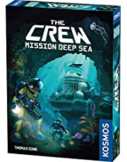 The Crew - Mission Deep Sea | Card Game | Cooperative Deep Sea Exploration | 2 to 5 Players | Ages 10 and up | Trick-Taking | 32 Levels of Difficulty | Endless Replayability