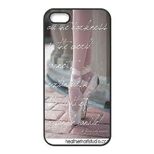 Custom LiuXueFei Phone caseElegent Ballet Dance Pattern For Iphone 5c -Style-5