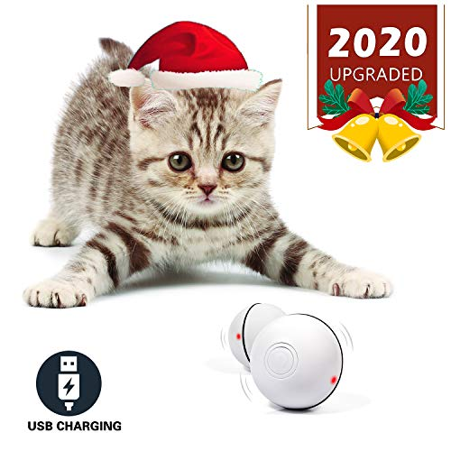 Smart Interactive Cat Toy Self Rotating Ball, 2