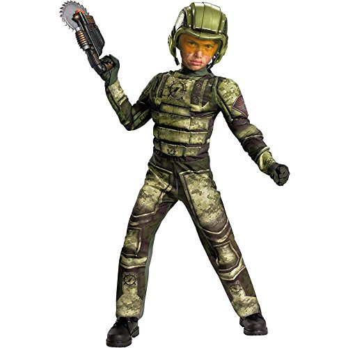 Operation Rapid Strike Red Sector Foot Soldier Classic Muscle Boys Costume, (Costumes For Four)