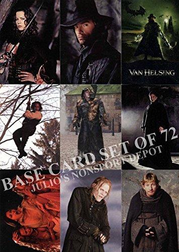 VAN HELSING THE MOVIE 2004 COMIC IMAGES COMPLETE BASE CARD SET OF 72