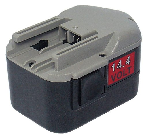 PowerSmart® 14.4V 2000mAh Ni-Cd 48-11-1000, 48-11-1014, 48-11-1024 Drill Battery for Milwaukee PAS 14.4 Power Plus, PCG 14.4, PES 14.4 T, PIW 14.4 HEX, PIW 14.4 SD, PJX 14.4 Power Plus, PLD 14.4 X Power Tools
