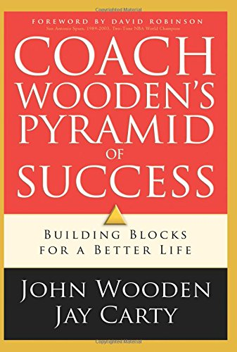 Coach Woodens Pyramid Success Wooden