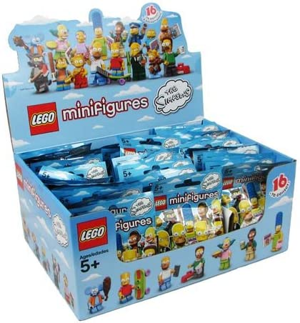LEGO 71005 The Simpsons Series 1 Sealed Case of 60 Minifigures