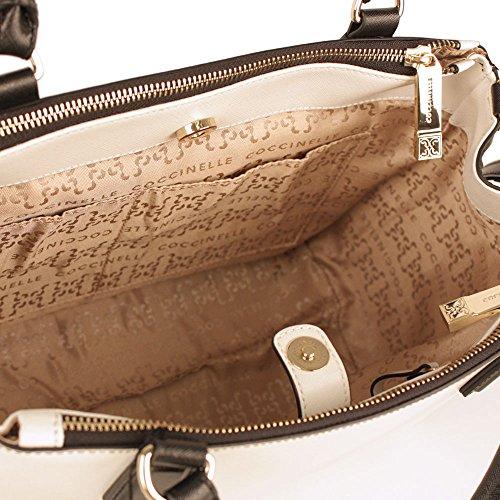 Oslo coccinelle sac à main pour femme noir/blanc/bleu
