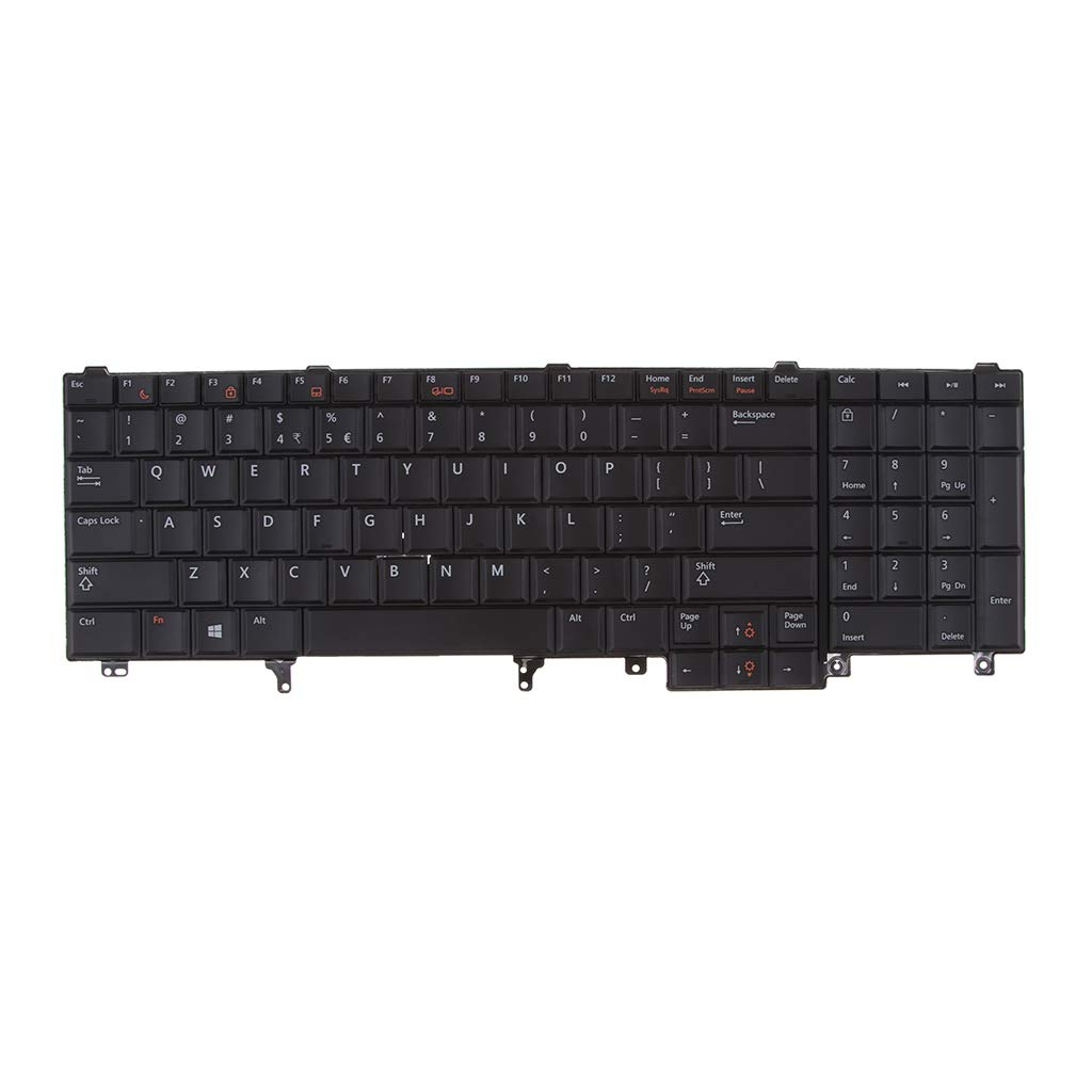 E6540 Homyl Replacement Keyboard for Dell Latitude E6520 E5530 Laptop US-Layout E6530 E5520