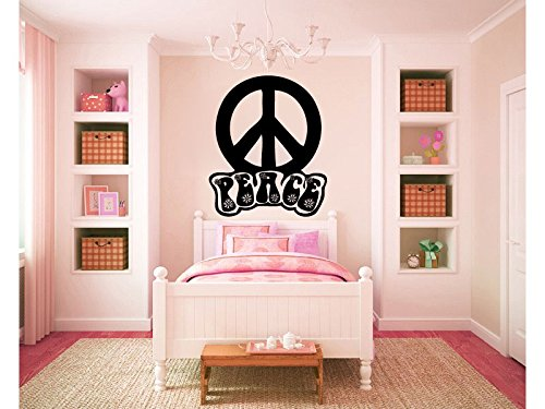 Peace Signs Graphics - Peace Sign Symbol Vinyl Wall Words Decal Sticker Graphic