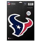 NFL Houston Texans 83726010 Die Cut Logo Magnet, Small, Black