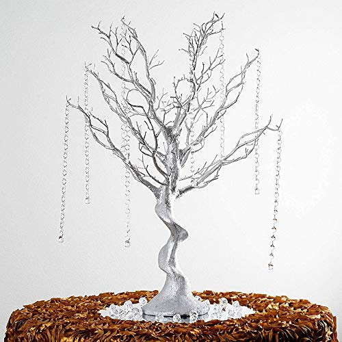 (Pack of 12) Manzanita Tree for Wedding Banquet Party Event Tabletop Centerpiece Decoration,30