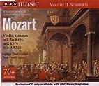 Mozart Violin Sonatas - BBC Music Volume II…