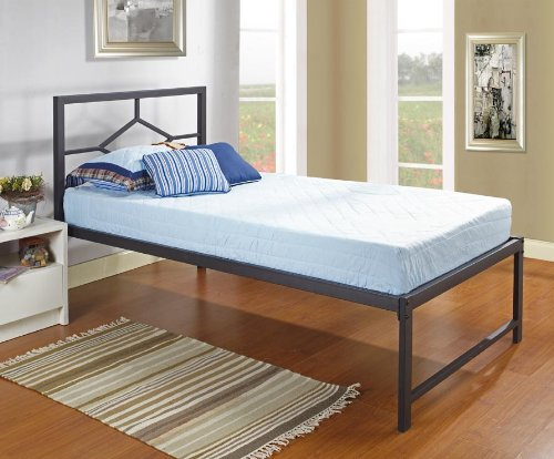 Amazoncom Kings Brand Furniture Black Metal Twin Size Day Bed