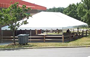 """40' X 120'/ 2"""" Dia. Classic Frame Party Tent with Aluminum Poles"""