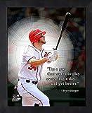 Bryce Harper Washington Nationals 12X15 Framed Proquote