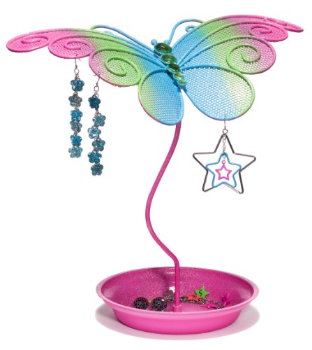 3C4G 68206 Butterfly Jewelry Holder