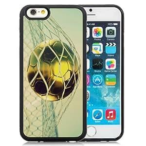 Beautiful Custom Designed Cover Case For iPhone 6 4.7 Inch TPU With Golden Goal Phone Case WANGJING JINDA