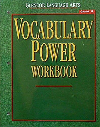 Glencoe Language Arts Vocabulary Power Workbook Grade 12