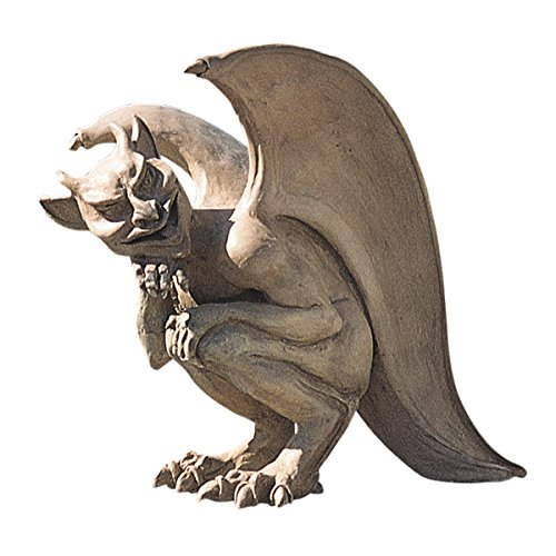 Design Toscano Legend of the Cambridge Hopping Gargoyle Sculpture - Large