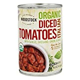Woodstock Farms 21867 Organic Diced Italian Tomatoes