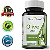 Pure Olive Leaf Extract Super Strength 20% Oleuropein 750 mg Natural Antioxidant Supplement For Anti-Aging Face & Skin Acne Increase Energy Immune and Vascular Support For Men Woman and Teens