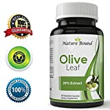 Cheap Pure Olive Leaf Extract Super Strength 20% Oleuropein 750 mg Natural Antioxidant Supplement For Anti-Aging Face & Skin Acne Increase Energy Immune and Vascular Support For Men Woman and Teens