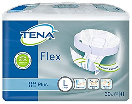 Tena – Compresas de Flex Plus – Pack de 30