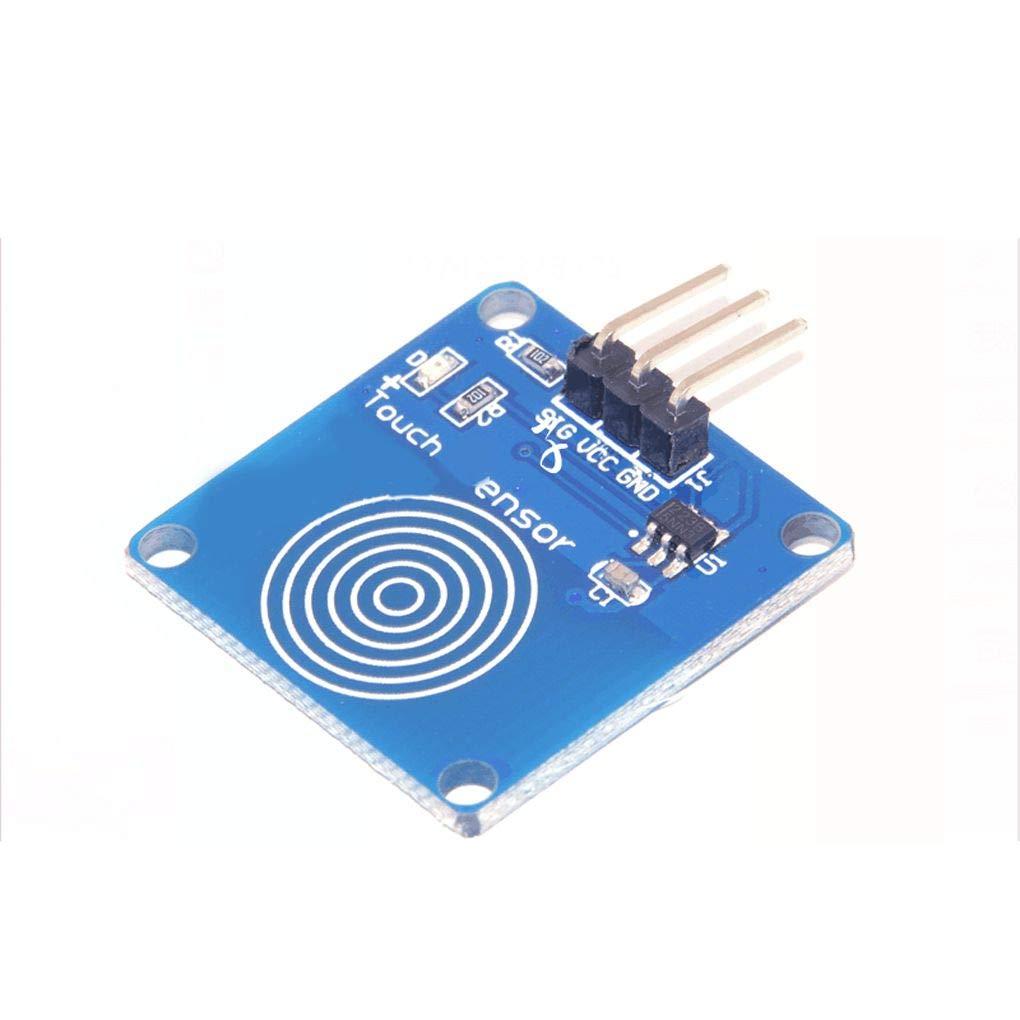 Morza 1pc numérique du Module de détection Tactile capacitif commutateur pour Le Bleu Arduino