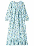 Carol Wright Gifts Women's Misses Size Floral Flannel Gown