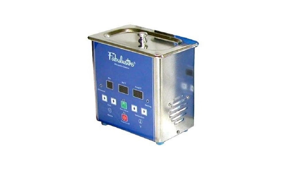 Fabulustre Ultrasonic Jewelry Cleaner 1.5 Pint with Heat & Timer