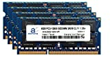 Adamanta 32GB (4x8GB) Memory Upgrade for HP All in One Desktop 22xt DDR3L 1600Mhz PC3L-12800 SODIMM 2Rx8 CL11 1.35v Notebook DRAM