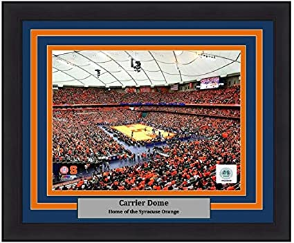 Syracuse Carrier Dome 8 X 10 Framed And Matted College