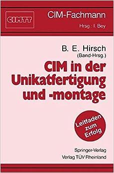 Book CIM in der Unikatfertigung und -montage (CIM-Fachmann)