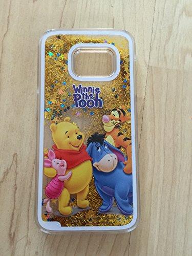 (Samsung S7, Winnie The Pooh Sparkle Liquid Glitter Quicksand Case For Samsung Galaxy S7 Ship from USA 2)