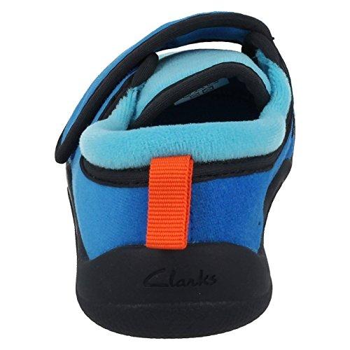 ClarksCuba Rise Inf - Sandalias con cuña para chico Azul