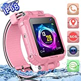 Best Fitness Gps Watch Trackers - 2019 Upgrades Waterproof Kids Smart Watch Phone GPS Review
