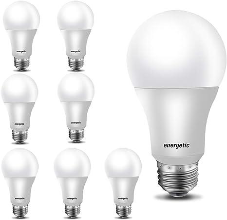 Led Bulbs 60 Watt A19 Light Bulbs Warm White 3000k E26 Base Non Dimmable 750lm Ul Listed 8 Pack
