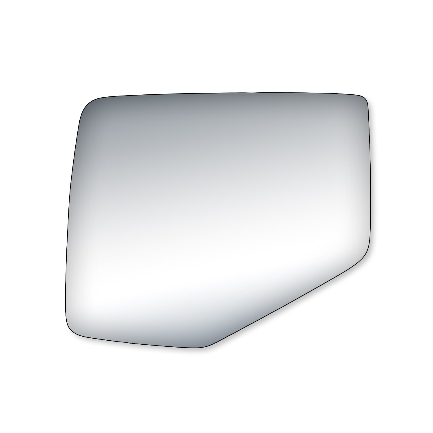 Fit System 99209 Driver//Passenger Side Replacement Mirror Glass