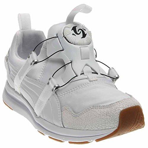 PUMA Women's Disc Sneaker, Whisper White, 8 M US