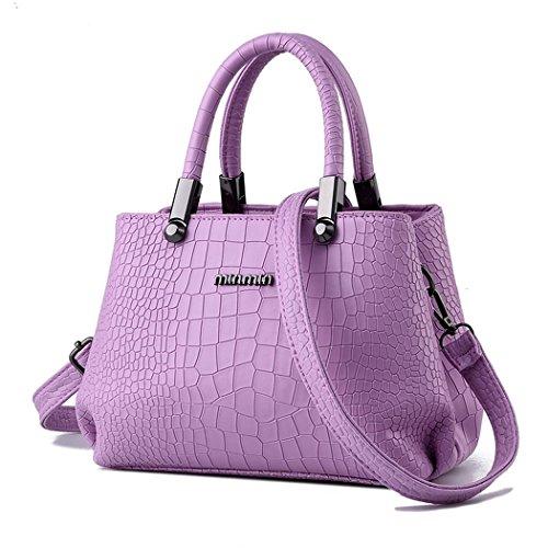 Vintage Paris Lo'la Handbag with Sling (Purple) - 2