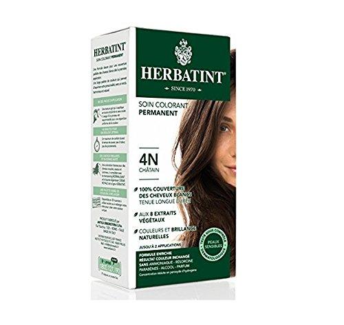 Herbatint Permanent Herbal Haircolour Gel 4N Chestnut ()