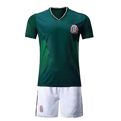 Amazon.com : Sykdybz 2018 Football Uniform Mexico Home Adult ...