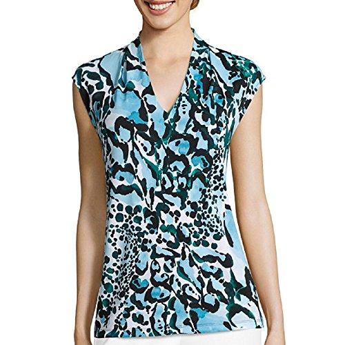 Liz Claiborne Sleeveless Knit Top Size XL