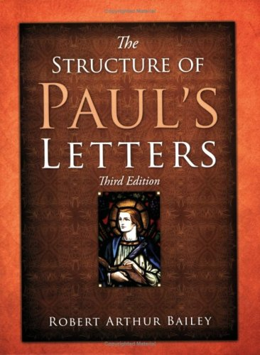 The Structure of Paul's Letters Text fb2 ebook