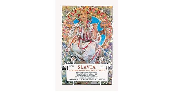Amazon Com Slavia Insurance Company Fine Art Canvas Print 20 X30 Posters Prints