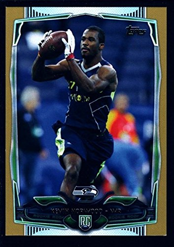 KEVIN NORWOOD /2014 SEAHAWKS GOLD ROOKIE MINT RC 2014 TOPPS #388 ALABAMA ()