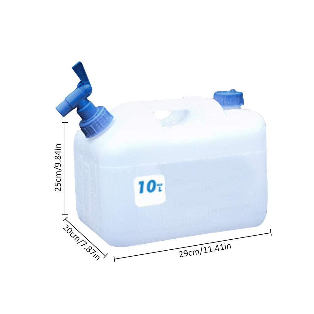 Amazon.es: Dispensador en Plástico Cubo de Almacenamiento de Agua al Aire Libre Ideal para Deportes Cuando Vas a Acampar Pesca Picnics para Almacenamiento ...
